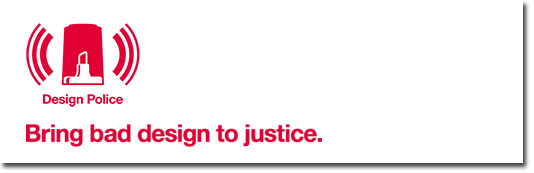 Design Police - Bring bad design to justice