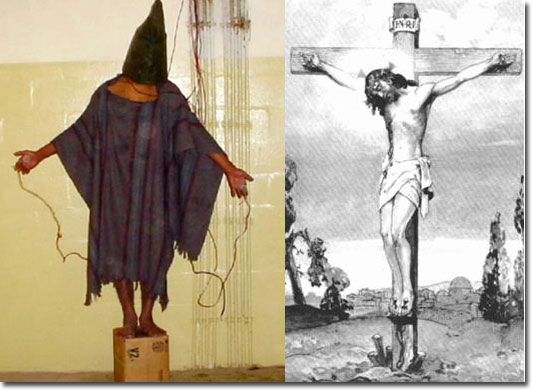 The Hooded Jesus from Abu Ghraib