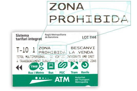 T-10 Barcelona: La Zona prohibida