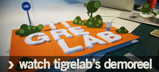 Watch Tigrelab's Demoreel